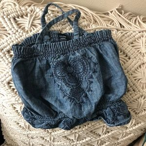 Baby Gap denim top sz: 12-18 mos